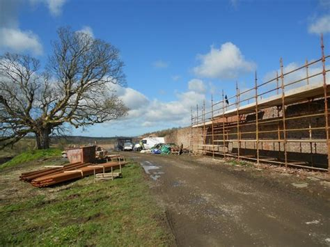 ongoing works at the walled garden dumfries house