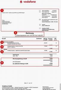 Rechnung Vodafone : dsl festnetz rechnung pr fen verstehen ~ Themetempest.com Abrechnung