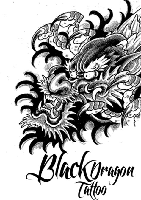 Free Dragon Tattoo, Download Free Clip Art, Free Clip Art on Clipart Library
