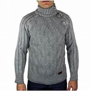 Gros Pull Laine Homme : pull homme en laine gris ~ Louise-bijoux.com Idées de Décoration