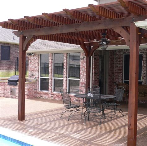 patio wooden patio covers