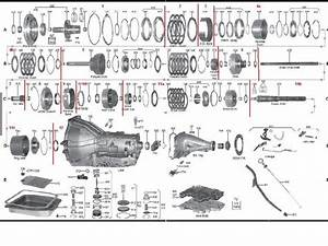 Ford C4 Transmission Exploded View
