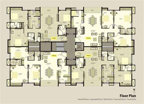 krc dakshin chitra luxury apartments floorplan luxury
