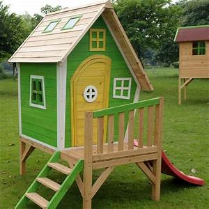 Cómo construir una casa de madera infantil1000 detalles