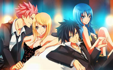couples  fairy tail images nalu gruvia hd fond