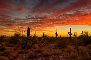 A Southwest Sunset Photograph by Saija Lehtonen
