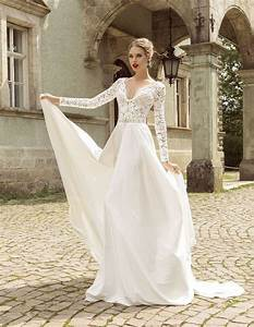 summer style lace long sleeve wedding dresses 2016 v neck With aliexpress wedding dresses 2016