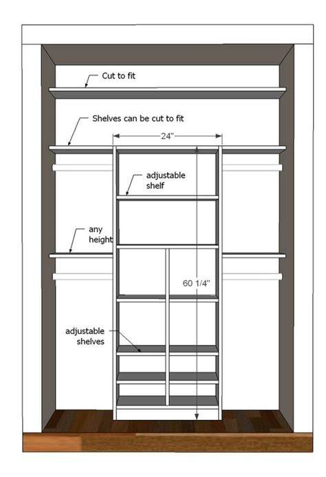 como hacer un closet a medida for the closet layout and