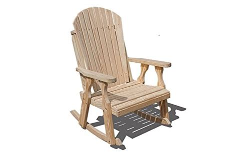 heavy duty amish handcrafted 2 foot wide adirondack rocker