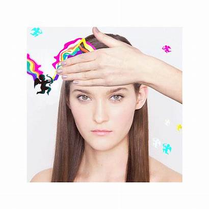 Gifs Makeup Beauty Elle Rainbow Waldo Models