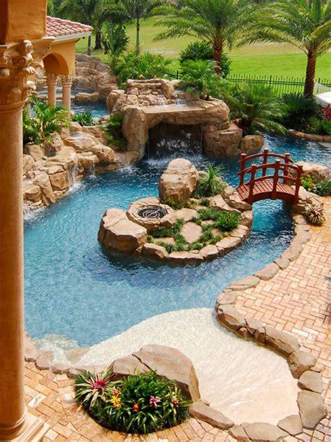 Gorgeous Backyards by 30 Beautiful Backyard Ponds And Water Garden Ideas