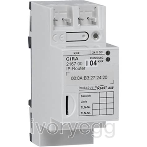 ip router knx dra ivory egg