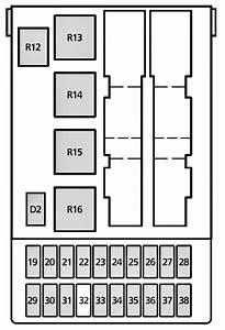 2000 Mercury Cougar Fuse Box Diagram