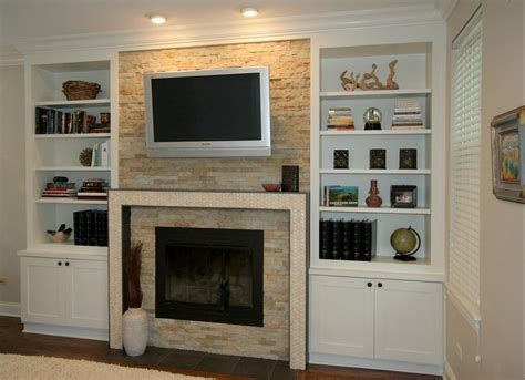 gas fireplace with built in cabinets fireplace design chicago built ins and custom cabinets