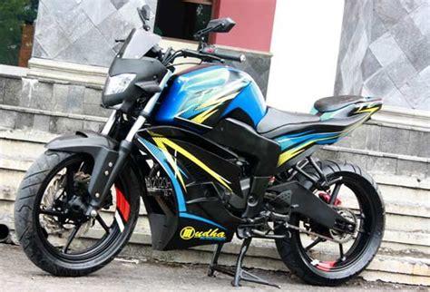 Gambar Modifikasi Motor Byson by Gambar Modifikasi Motor Yamaha Byson Paling Sporty Dan