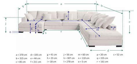 canapé dimensions test avis canapé d 39 angle 7 places loft de maisons du monde