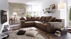 Wohnzimmer Mit Brauner Couch : braunes sofa bilder ideen couch ~ Markanthonyermac.com Haus und Dekorationen