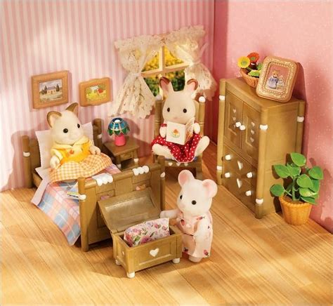 calico critters country bedroom set kiarras room sylvanian families country critters