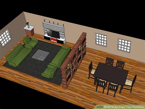 furniture arranging program how to arrange your furniture with pictures wikihow