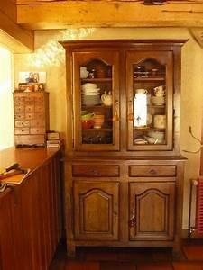 Vaisselier Chene Massif : meuble vaisselier rustique clasf ~ Teatrodelosmanantiales.com Idées de Décoration
