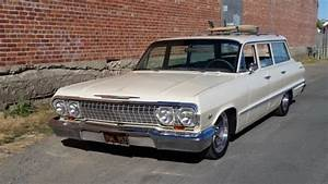 1963 Chevy Bel Air 9 Passenger Wagon For Sale  Photos