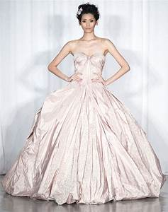 spring 2014 rtw wedding worthy dresses zac posen blush With blush ball gown wedding dress