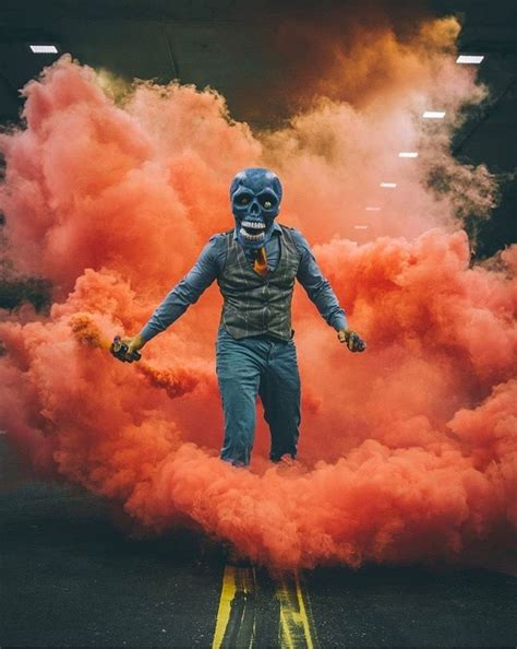 color smoke bomb skeleton of color smoke photography smoke
