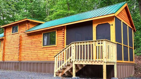Gorgeous Cozy Log Cabin with Loft and Porch by Lancaster