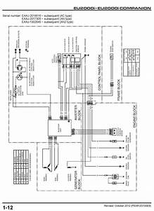 Eu2000i Generator Shop Manual