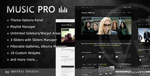 best wordpress music themes joomla drupal and html With band epk template