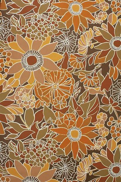 70s Wallpapers Aesthetic Floral 70 Hippie Retro