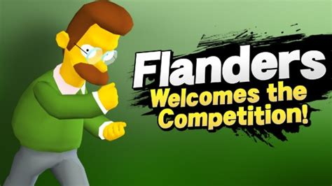 ned flanders  mac super smash bros  wii