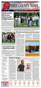 September 5, 2017 - The Posey County News by The Posey ...