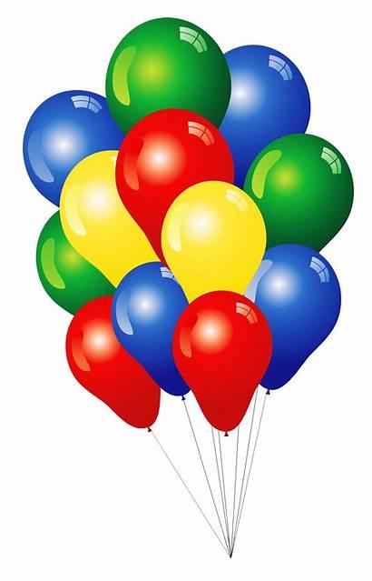 Clipart Balloons Multi Colored Clip Clipground