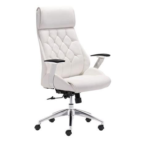 white modern desk chair  fancy boutique office chair white  zuo modern desk chairs design popular home interior decoration