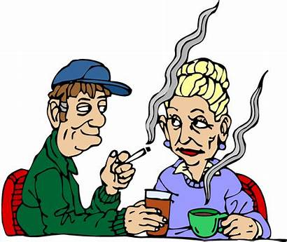 Hobbies Smoking Clipart Couple Clip Drinking Interests