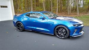 2016 Chevrolet Camaro 2ss Coupe Only 504 Miles Hyper Blue