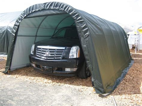 xx  shelterlogic shelter portable garage carport canopy instant  ebay