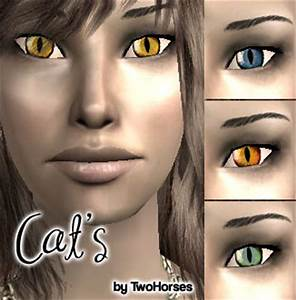 Mod The Sims - Cat Eyes for Human Sims