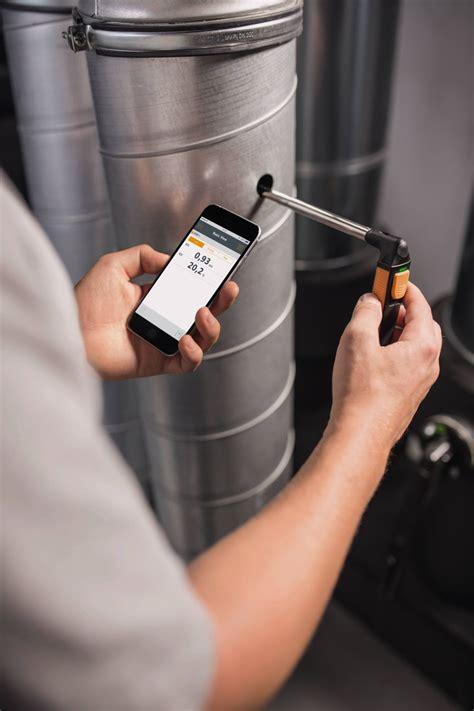 on testo testo 405i wire anemometer smart probe portable