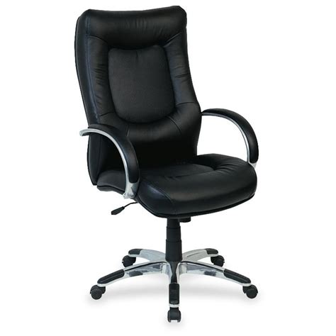 Lorell Executive High Back Chair Leather by Lorell Stonebridge Leather Executive High Back Chair
