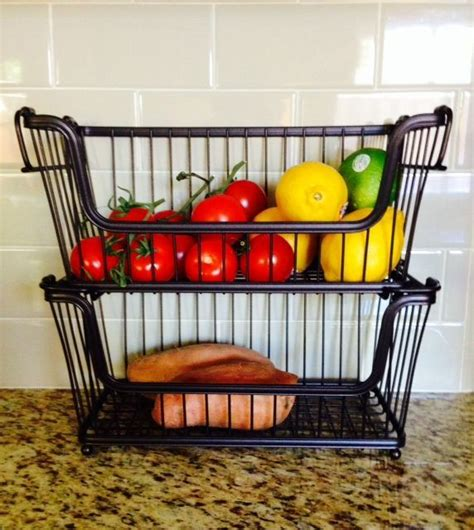 loving countertop fruit veg storage