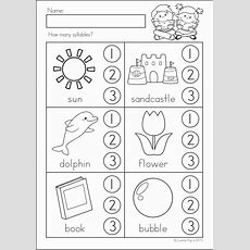 25+ Best Ideas About Syllables Kindergarten On Pinterest  Sounds Great, Phonemic Awareness