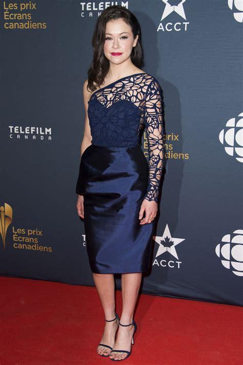 tom cullen savannah tatiana maslany 2015 canadian screen awards in toronto
