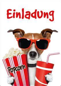 kino einladungen lustige einladungskarten ins kino zum