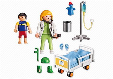 hopital chambre playmobil hôpital chambre denfant avec médecin 6661
