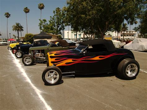 hot rod and custom car show 2010 la roadster show
