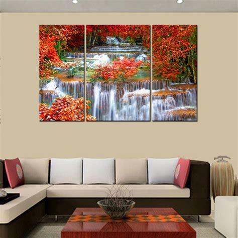 hd canvas prints home decor wall painting mangrove waterfall unframed l44 ebay