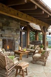 schoner garten und toller balkon gestalten ideen und With feuerstelle garten mit balkon relaxsessel