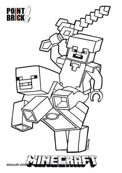 Minecraft Coloring Pages Steve Printable Getcolorings